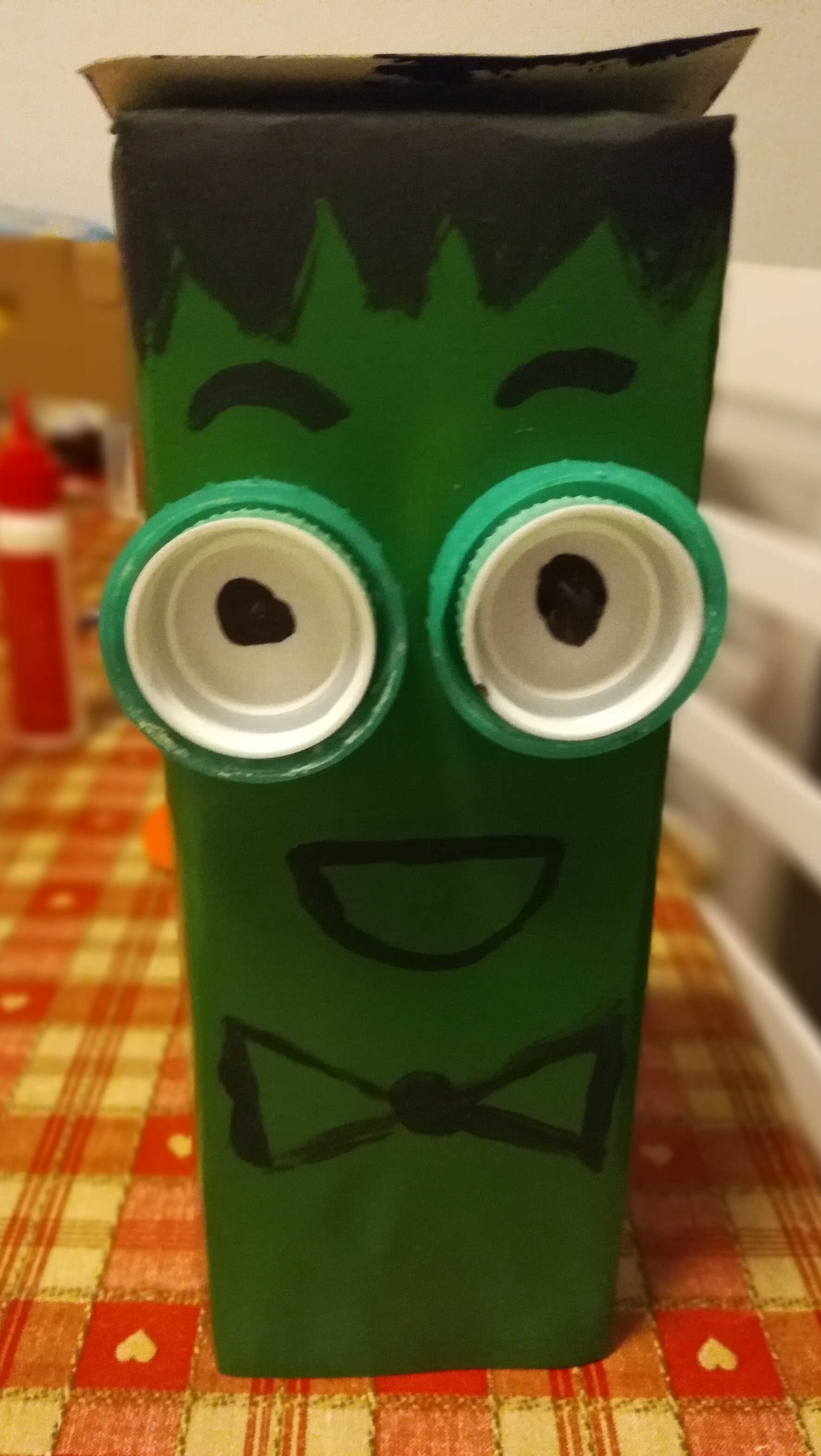 Halloween milk carton crafts