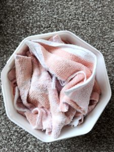 Home-made baby wipes